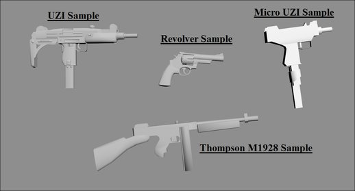 Weapons Modding References V2