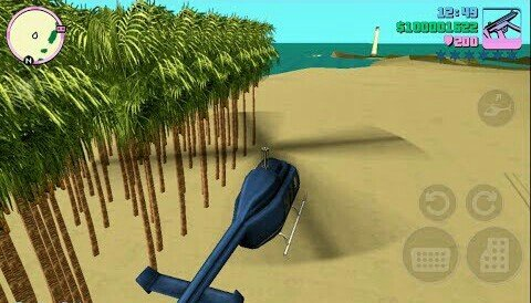 Palm Garden On Beach Map Mod - GTA Vice City - For Android