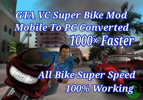 gta vice city bike mod installer download