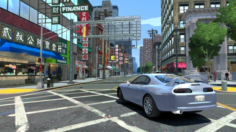GTA 4 Toyota Supra RZ (NFS Carbon) Mod - GTAinside com