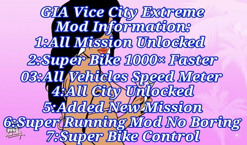 GTA Vice City All In One Extreme Mod Windows PC Mod