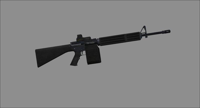 GTA San Andreas AR-15 LSW Box Magazine Mod - GTAinside com