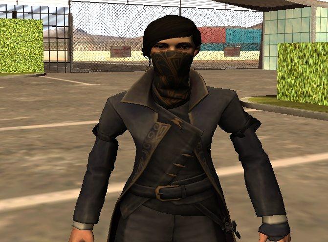 GTA San Andreas Dishonored 2 Emily Kaldwin skin Mod