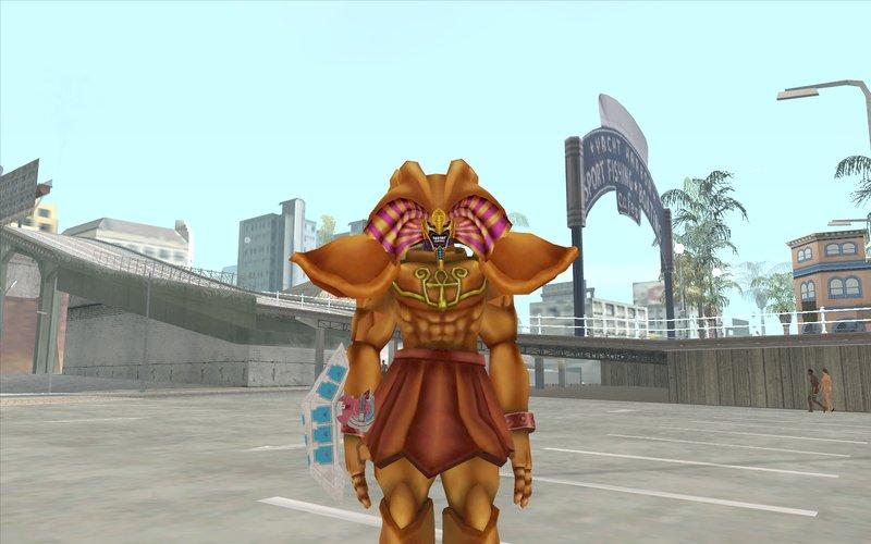 GTA San Andreas Duel Disk Yugioh Weapon Mod - GTAinside com
