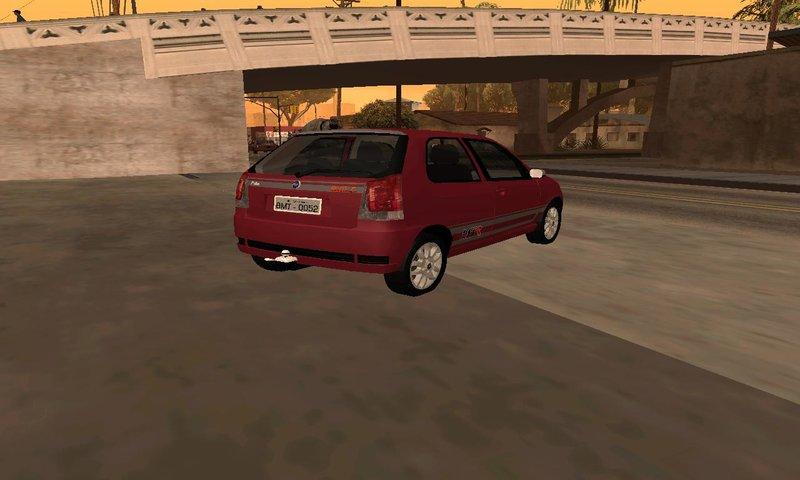 GTA San Andreas Fiat Palio 1.8r Mod - GTAinside.com