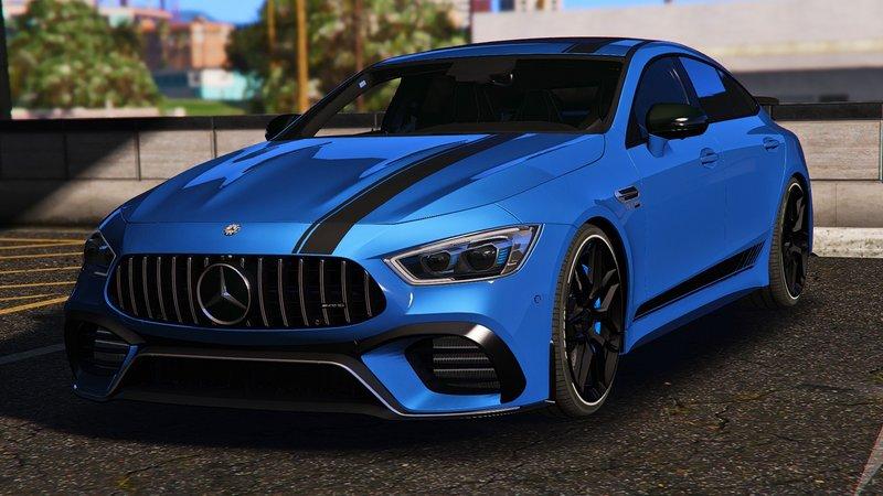 GTA 5 Mercedes-AMG GT63 S Coupe [Add-On/OIV] Mod - GTAinside com
