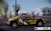 Dodge Charger STR8 Taxi w/ Itasha