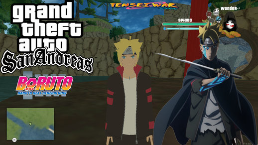 Pack Teen Boruto and Kawaki Skin (Boruto Naruto Next Generation)