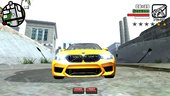 Bmw M5F90 Competition for Mobile (dff+txd)