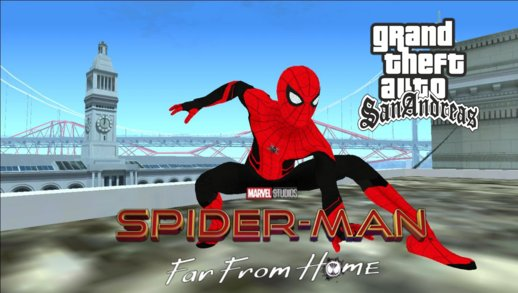 Spider Man Far From Home Official Skinpack