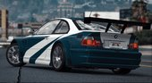 BMW M3 GTR E46 NFS MW [4k livery] [Add-On]