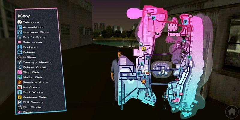GTA Vice City Vice City Android (93% Progress) Mod