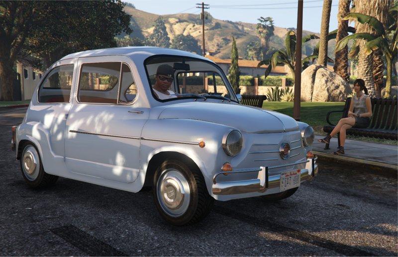 GTA 5 Fiat 600 | Seat 600 | Zastava 750 [Add-On] Suicide