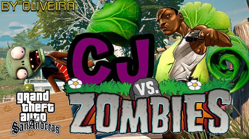 Gta San Andreas Cj Vs Zumbie Mod Combat Mod Gtainside Com