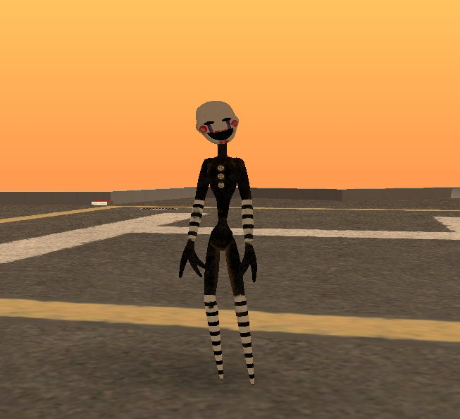 GTA San Andreas Puppet/Marionette from FNaF Mod - GTAinside com