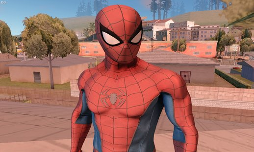 Spider-Man Suit Classic - Spider-Man PS4