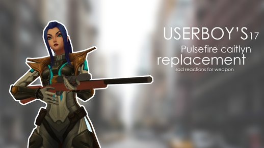 Pulsefire Caitlyn Replacement