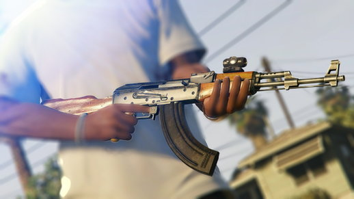 Max Payne 3 AK-47 For Android