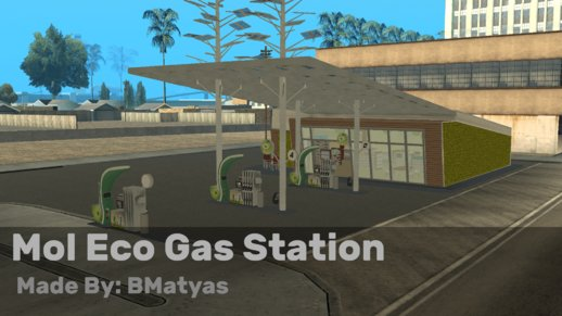 Mol Eco Gas Station