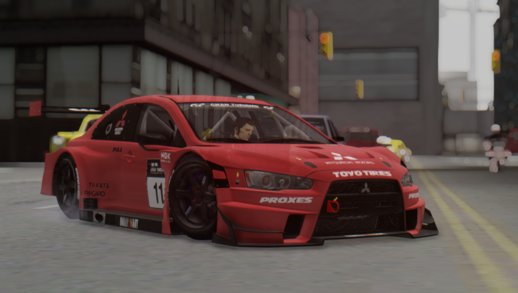 2015 Mitsubishi Lancer Evolution X Final Edition GT3