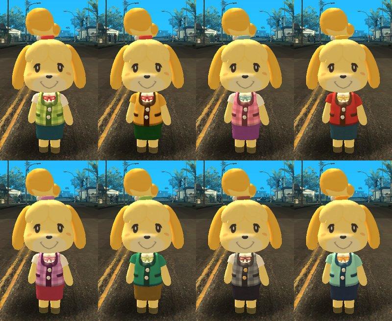 GTA San Andreas Super Smash Bros Ultimate - Isabelle (+ it's