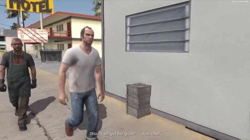 GTA San Andreas [DYOM+Sound] GTA5 missions Trevor Philpis