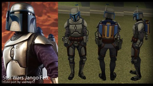 Jango Fett from Star Wars: Galaxy of Heroes