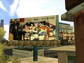 Naotora ii Billboards & DOA5 Female Characters in Rodeo LS Area