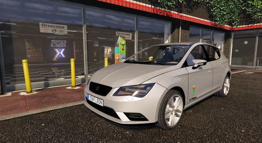 2012 Seat Leon [Add-on Replace Template]