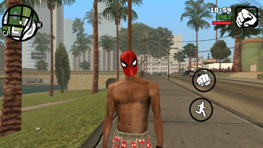 Spider Man Mask for CJ