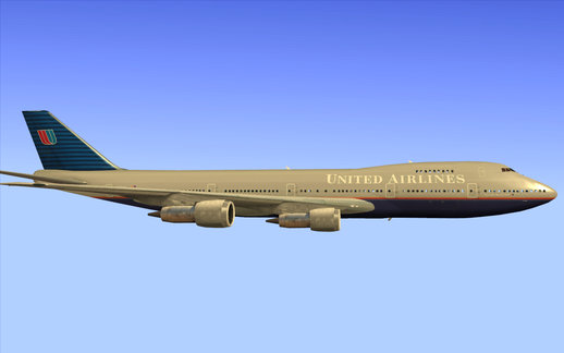 Boeing 747-100 United Airlines