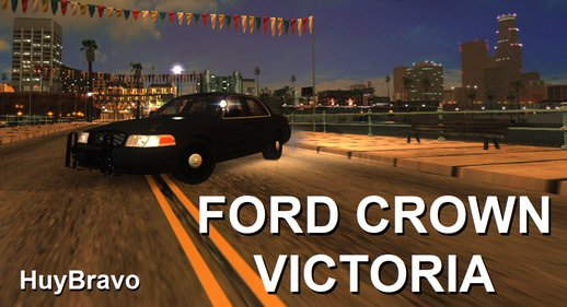 Ford Crown Victoria V2 New Sound