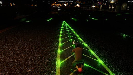 LED ROADS A New Generation Of Grand Theft Auto V Roads
