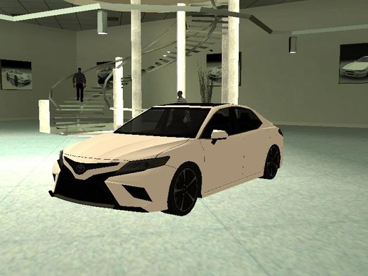 Toyota Camry XSE 2019 Lowpoly