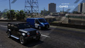 Portuguese PSP Cinotechnical Operational Group - Dog Carriage - Ford Transit [ AddOn / Non-Els ]  v1.0