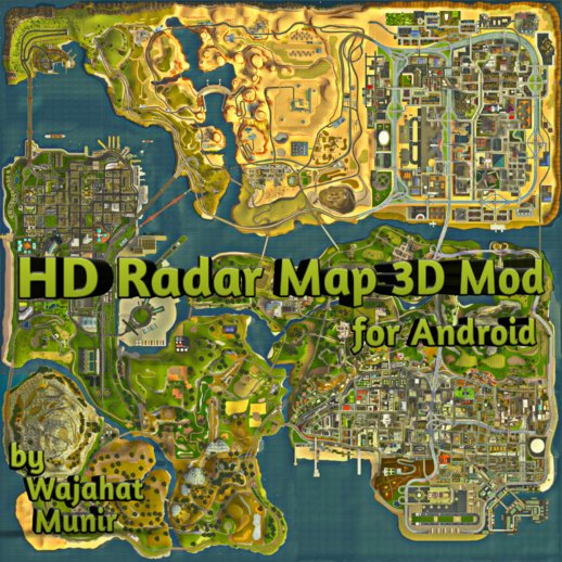HD Radar Map 3D Mod for Android