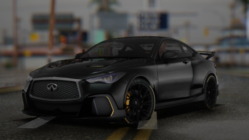 Gta San Andreas 2018 Infiniti Q60 Project Black S Mod
