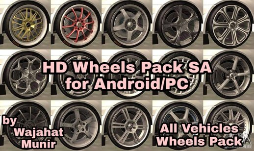 HD Wheels Pack Sa for Android/PC