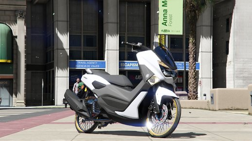 2018 Yamaha N-max [Add-On/Replace]
