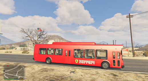 Ferrari Airport Bus
