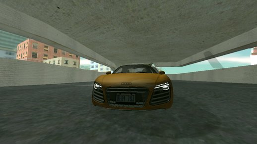 Audi R8 only dff mods