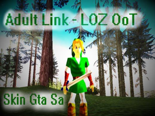 Adult Link - Legend of Zelda Ocarina of Time