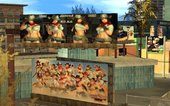 DOA5 Cowgirls Rodeo Time Billboards in Rodeo Los Santos