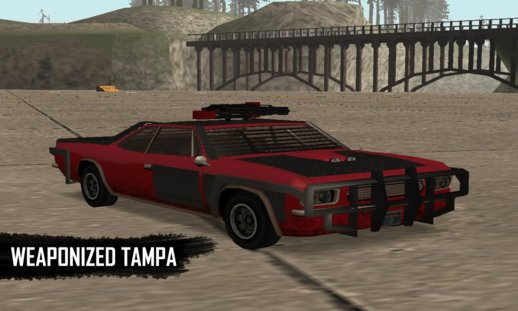 GTA V Weaponized Tampa SA Style