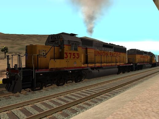EMD SD40-2 Union Pacific with Reverse Model