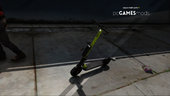 Portuguese - Electric Sharing Scooter [ AddOn / Livery / + Map Editor Xml ]