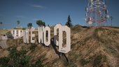 GTA V Vinewood Sign & Tower