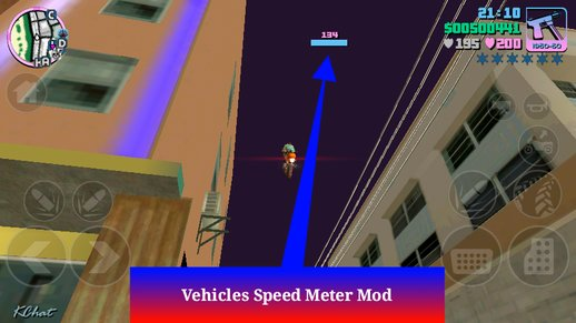 Vehicles Speed Meter Mod For Android