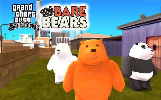We Bare Bears Skin Pack V1.0
