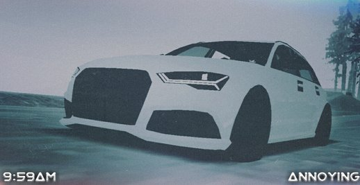 AUDI RS6 for Mobile